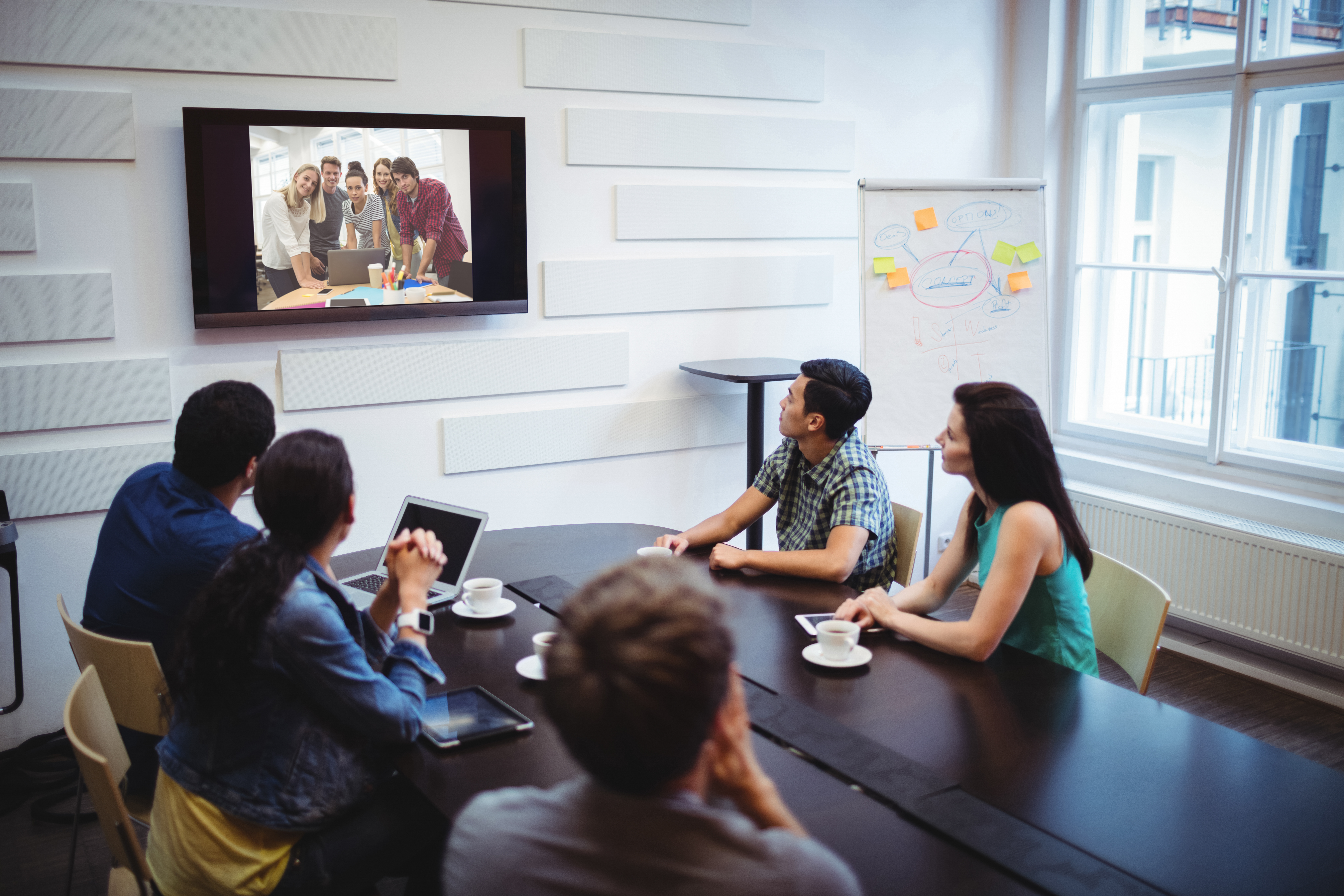 business-executives-doing-video-conference